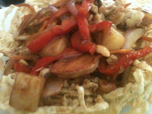 Bobo Noodle House's cashew chicken - ROBIN WHEELER