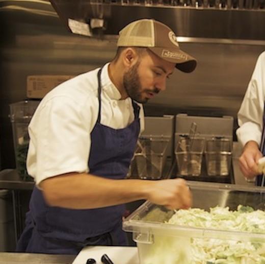Chef Wil Fernandez-Cruz at Restaurant at the Cheshire. - LIZ MILLER