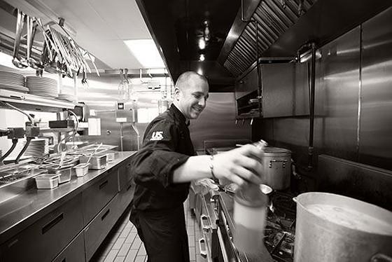 Chef Ivy Magruder at Gamlin Whiskey House. | Jennifer Silverberg