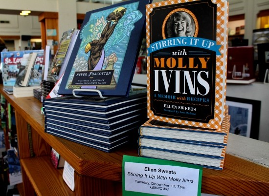 Copies of Stirring It Up with Molly Ivins now available at Left Bank Books. - MABEL SUEN