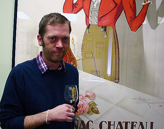 Phil Peimann, one of your esteemed faculty at the Wine Merchant. - KATIE MOULTON