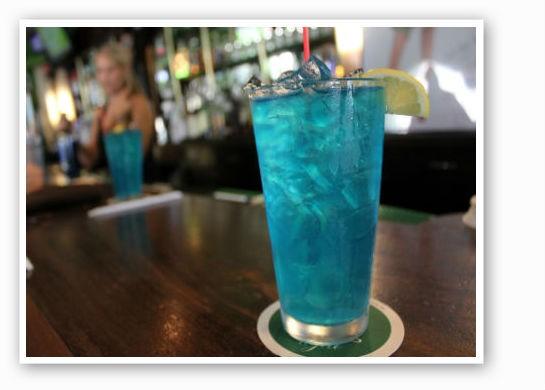 """The Blue Molly"" at Pat's. | Pat Kohm"