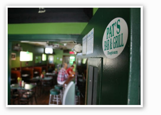 Welcome to Pat's. | Pat Kohm