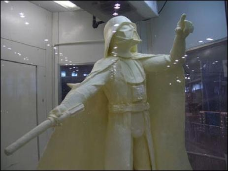 Luke, I am your butter. - SLASHFOOD.COM/HUFFINGTONPOST.COM