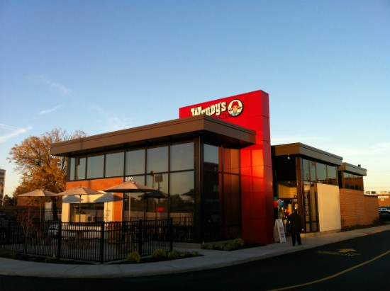 The exterior of Wendy's 2.0 on Hampton Avenue. - LIZ MILLER