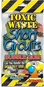 Lead has prompted a recall of Toxic Sludge Short Circuits Gum! - FDA