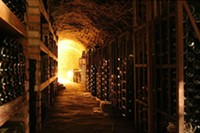 """Not Dave Nelson's wine cellar. - USER """"CHE,"""" WIKIMEDIA COMMONS"""