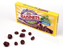 Leave the raisins. Take the chocolate. - RFT PHOTO