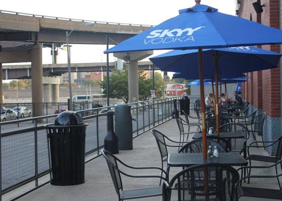 The patio at Wheelhouse. | Nancy Stiles