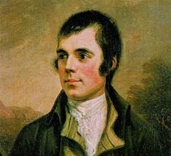 The great Scottish poet Robert Burns