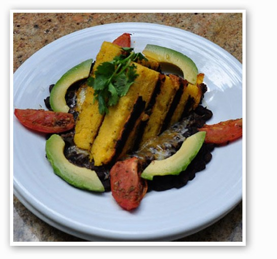 Grilled polenta at Square One. | Tara Mahadevan