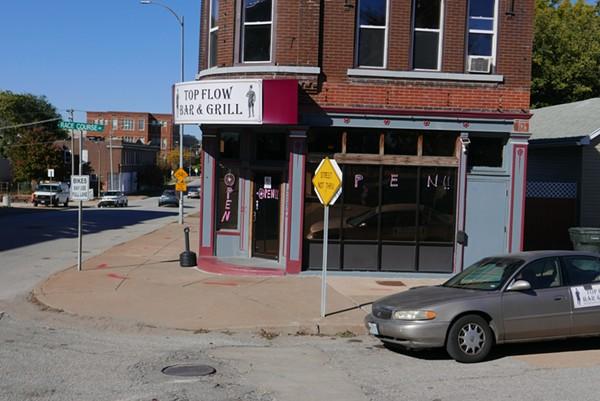 Top Flow Bar & Grill sits just inside the Grove neighborhood. - DESI ISAACSON