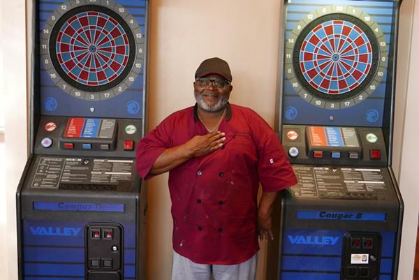 Owner James Johnson boasts a few dart boards, a jukebox and soon, he hopes, a full liquor license. - DESI ISAACSON
