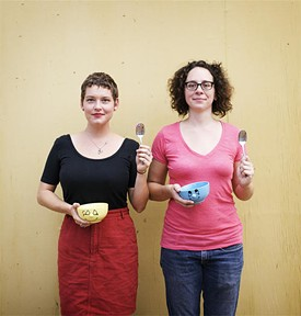 Maggie Ginestra and Amelia Colette Jones: 2010 MasterMinds - JENNIFER SILVERBERG