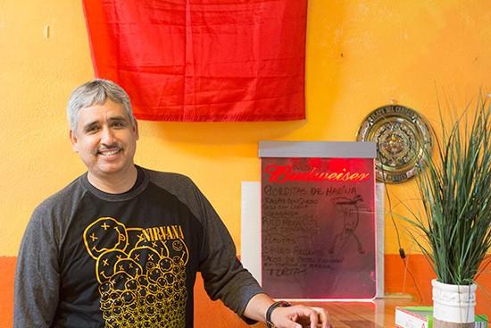 Owner Luis Navarro.