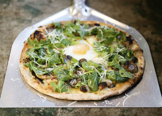 The fungi pizza at Mad Tomato. | Jennifer Silverberg