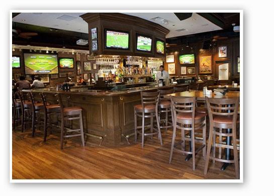 The bar at Black Finn.   Crystal Rolfe