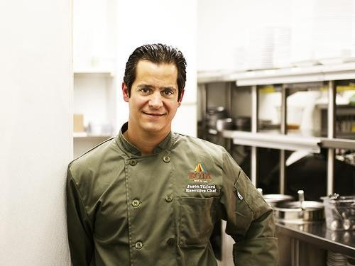 Jason Tilford, executive chef at Kota Wood Fire Grill - JENNIFER SILVERBERG