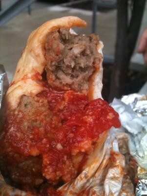 Check out the big balls on Falafelwich's newest venture. - ROBIN WHEELER