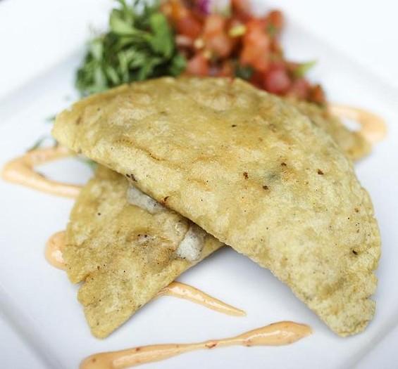 The quesadillas tradicionales at Milagro Modern Mexican - JENNIFER SILVERBERG