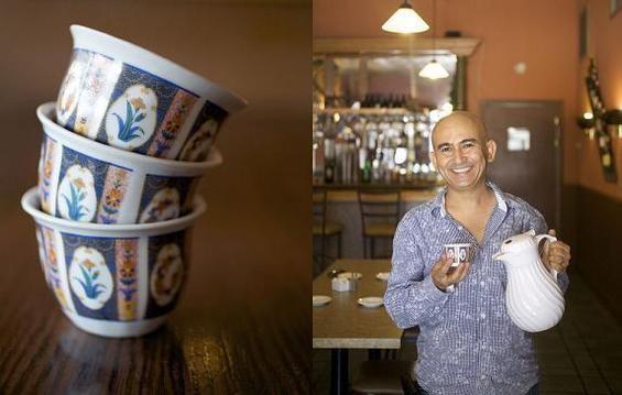 Riyad Al Wadi, owner of Al Waha Restaurant & Hookah Lounge - JENNIFER SILVERBERG