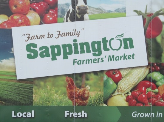 Sappington Farmers Market began the Mobile Market service to Metro transit stops in mid-March of this year. - STEPHEN FAIRBANKS