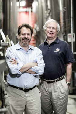 Dan Kopman and Tom Schlafly founded the Saint Louis Brewery in 1991 in the shadow of Anheuser-Busch. - JENNIFER SILVERBERG