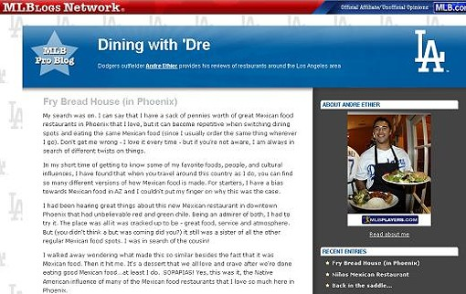 DININGWITHDRE.MLBLOGS.COM