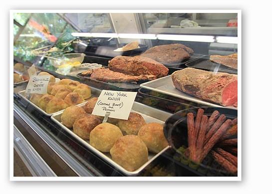 The spread at Protzel's.   Madelaine Azar