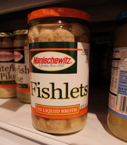 "Nothing says ""kosher for Passover"" like mini-gefilte fish - ALISSA NELSON"