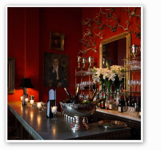 The bar adds two more seats. | Jennifer Silverberg
