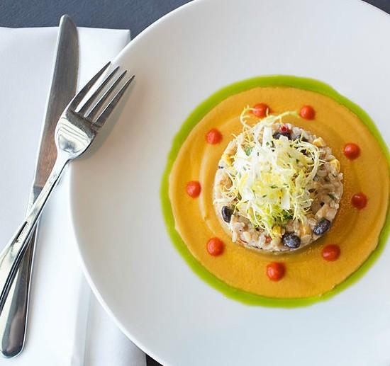 """Salad of Local Brown Rice and Marcoot Creamery Mozzarella."" | Jennifer Silverberg"