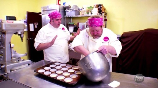 Casey Shiller and Dana Holland at Jilly's. | Food Network