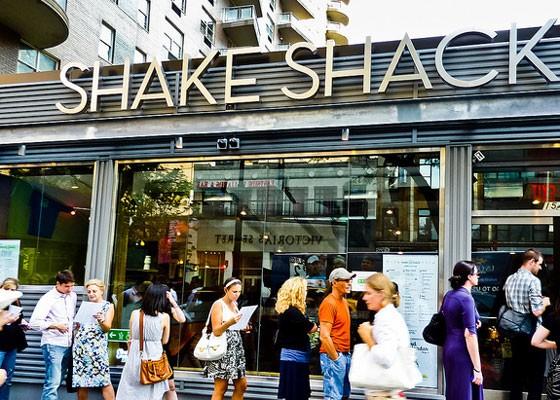 Shake Shack in New York City.   Drew XXX