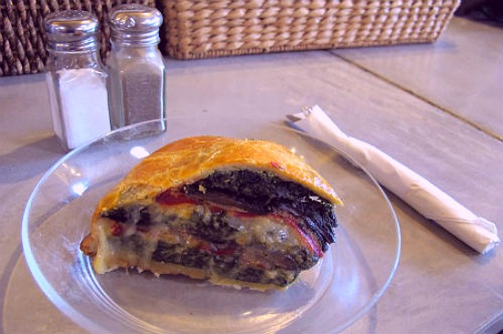 """The """"Torta Rustica"""" at Winslow's Home. - REASE KIRCHNER"""