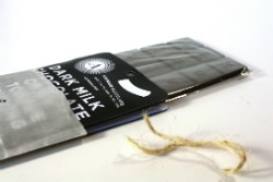 Askinosie Chocolate's award-winning Dark Milk Chocolate + Black Licorice CollaBARation Bar. - IMAGE VIA