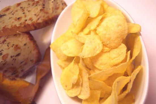 The Cheesy Garlic Bread chips somehow won. - LIZ MILLER