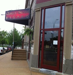Quincy Street Bistro was gut-renovated inside and out. - HOLLY FANN