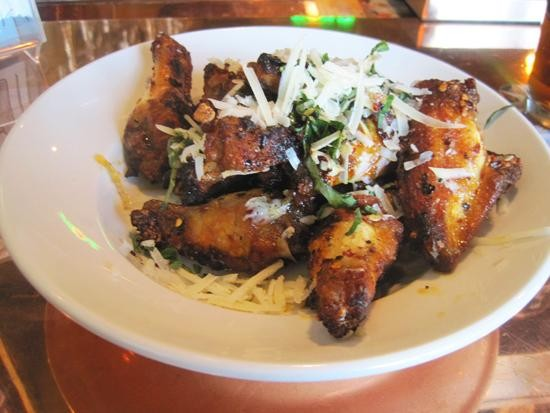 """The """"Fire"""" wings at Peel Wood Fired Pizza - IAN FROEB"""