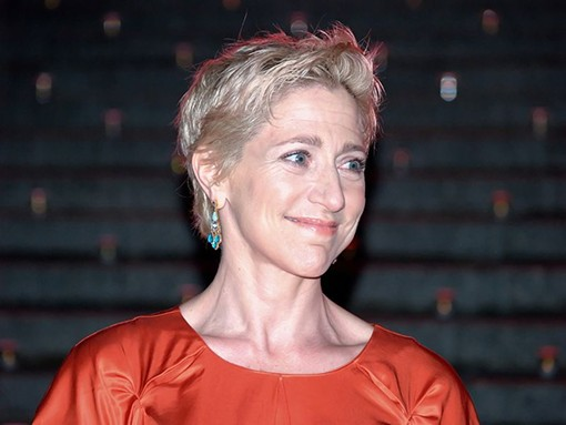 She looked like Edie Falco -- but she wasn't smiling. - DAVID SHANKBONE, WIKIMEDIA COMMONS