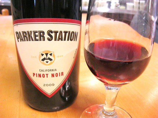 Parker Station pinot noir is as light and playful as the panda on the label. - ERIKA MILLER
