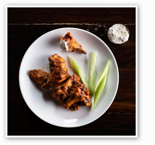 The Precinct's wings, one of the dishes that will stay on the new menu. | Jennifer Silverberg