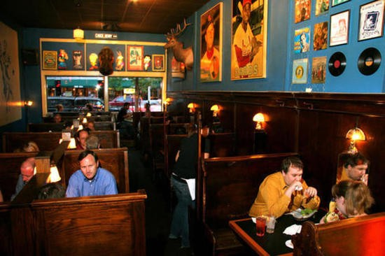 Blueberry Hill garnered multiple nominations for St. Louis' most overrated burger.