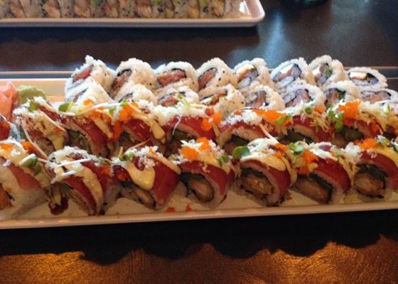 So. Much. Sushi. | Nancy Stiles