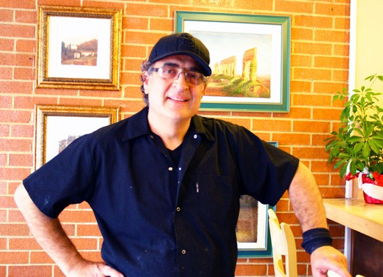 Mauro Galati, the man behind the marinara. - KATIE MOULTON