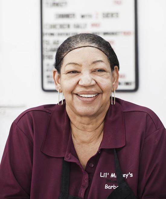Charles Butler's mom, Gloria Lee - IAN FROEB