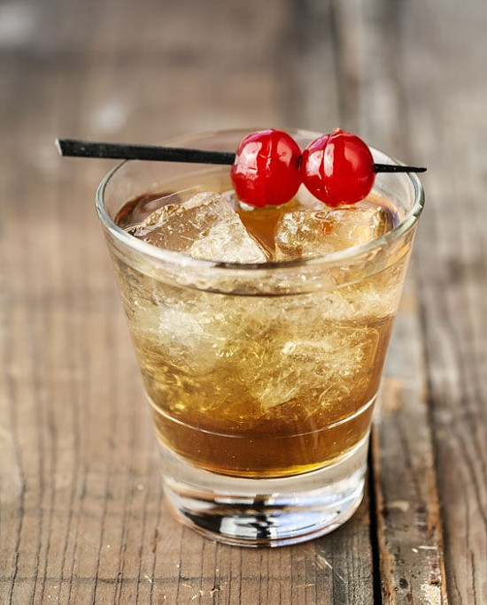 A Manhattan at Blind Tiger in Maplewood | Jennifer silverberg
