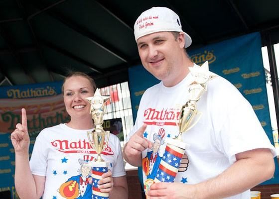 "Regional winners Marlene Wiggington and Sean ""Flash"" Gordon.   Jon Gitchoff"