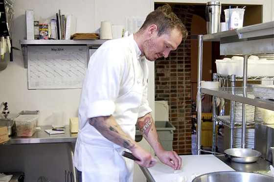 Chef Bradley Hoffmann of Planter's House. | Cheryl Baehr