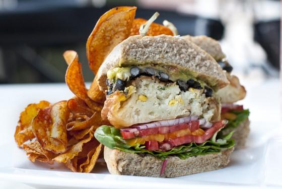 "The ""burger"" at Small Batch. | Caroline Yoo"